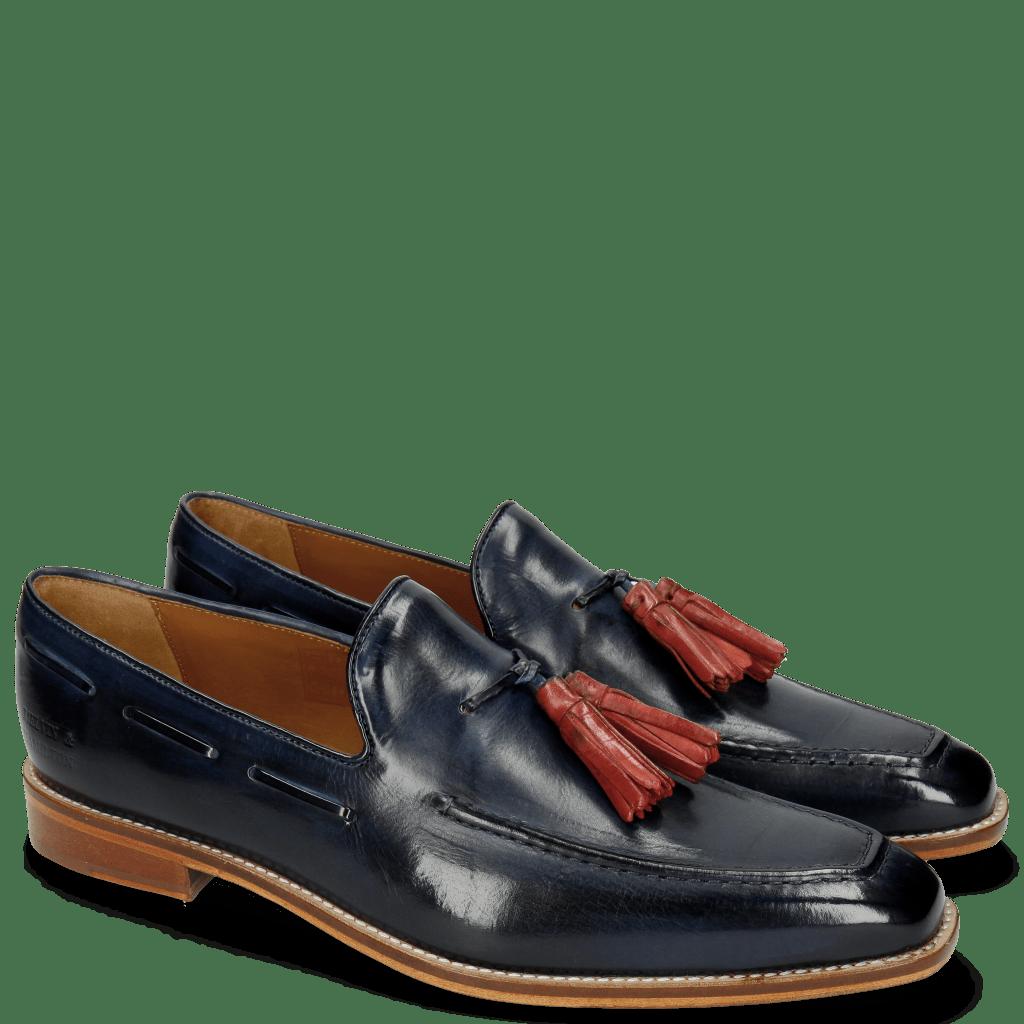 Loafers Leonardo 1 Marine Tassel Fiesta