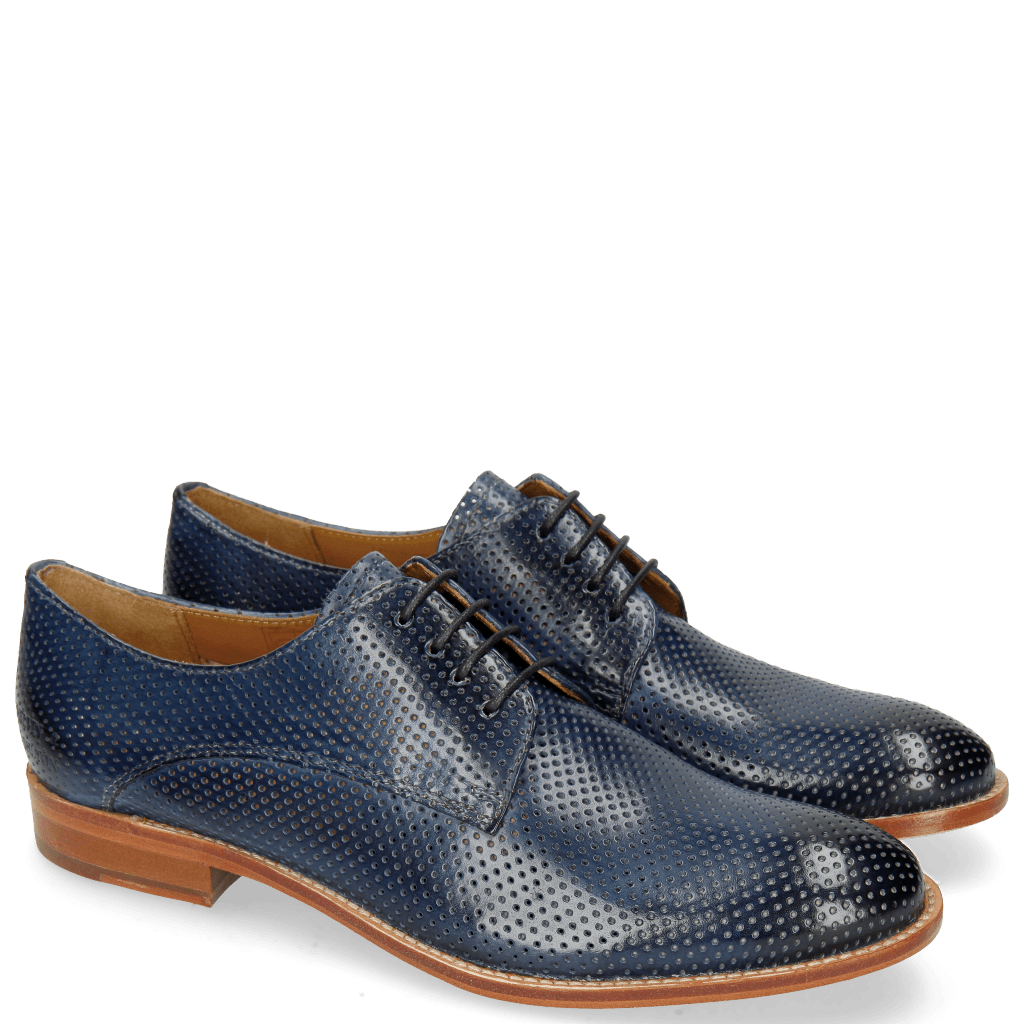 Derby shoes Amelie 14 Perfo Marine