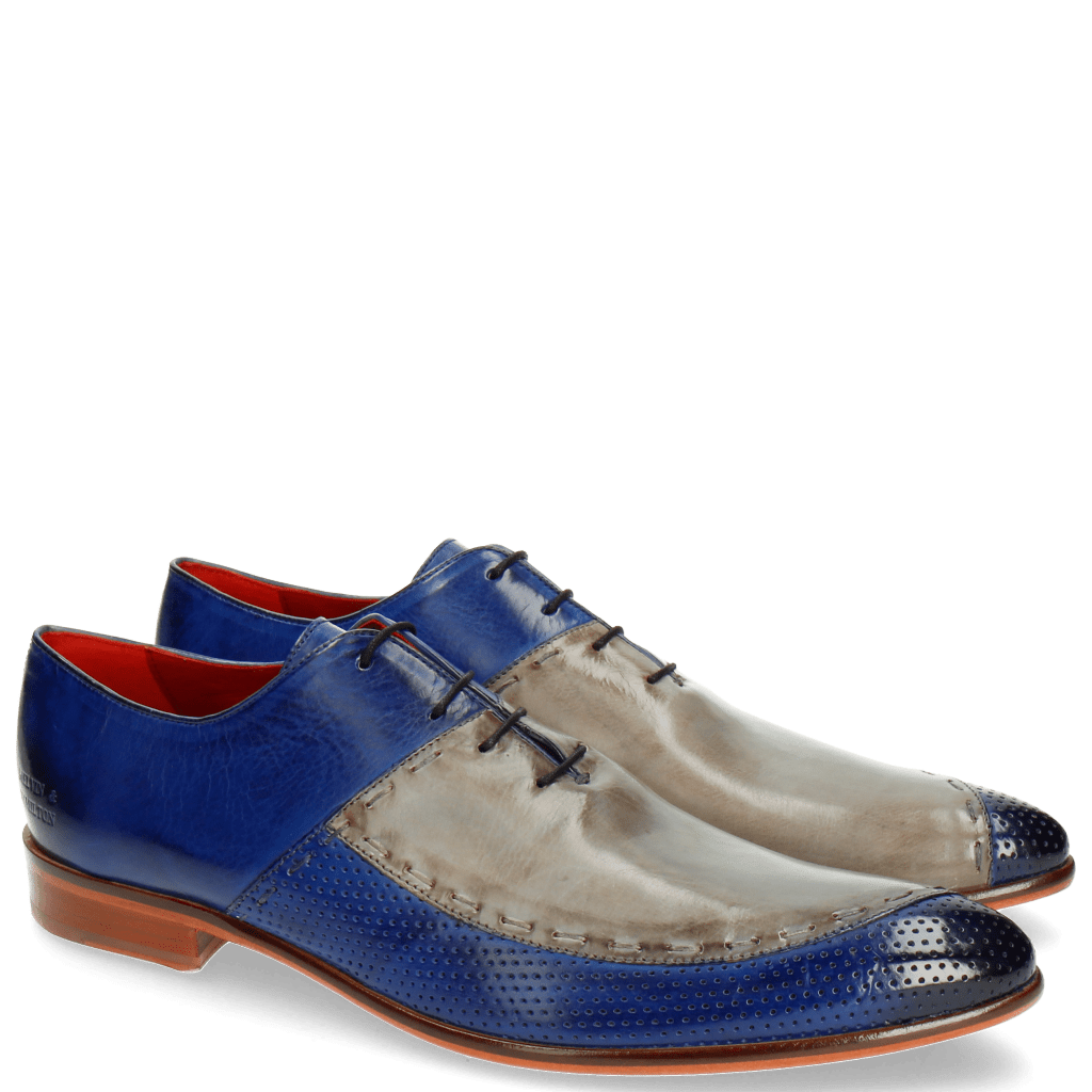Oxford shoes Toni 15 Perfo China Blue Morning Grey LS Natural