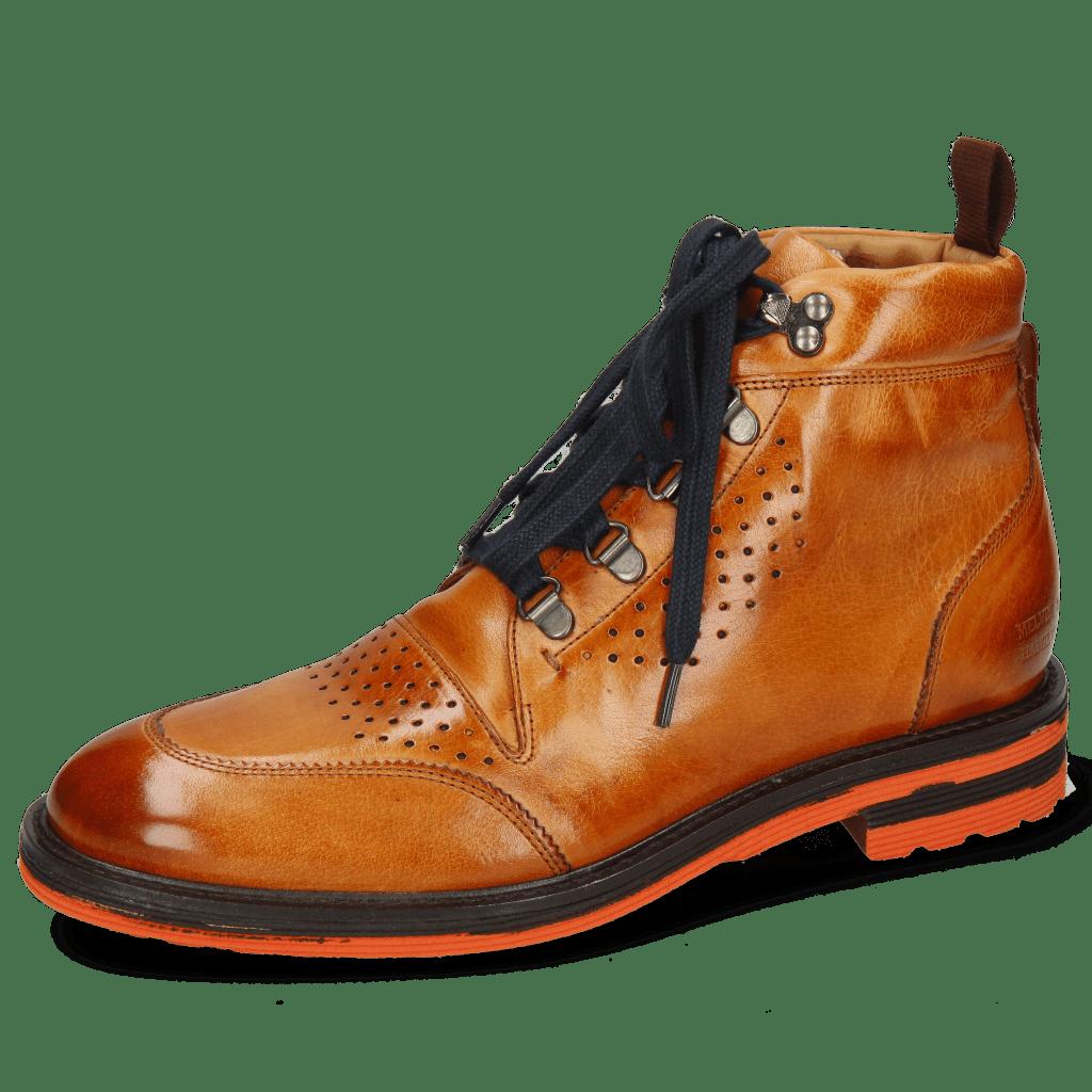 Ankle boots Trevor 5 Winter Orange Laces Blue