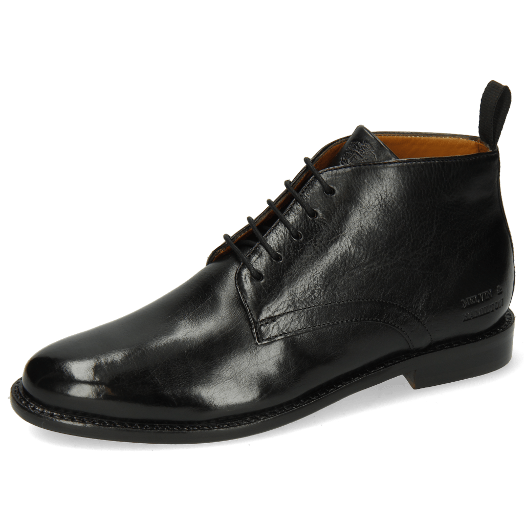 Ankle boots Selina 28 Pisa Black Lining Rich Tan