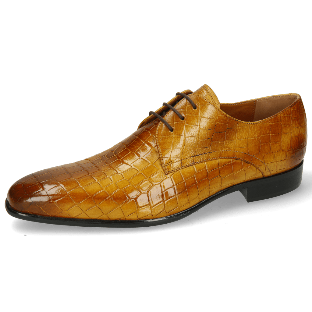 Derby shoes Lance 24 Crock Indy Yellow