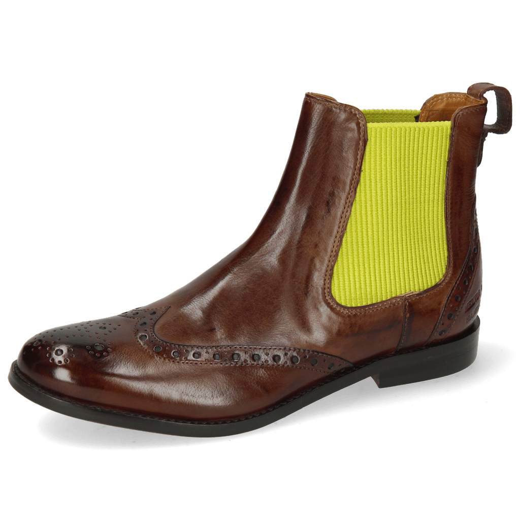 Ankle boots Amelie 5 Imola Mink Elastic Light Green
