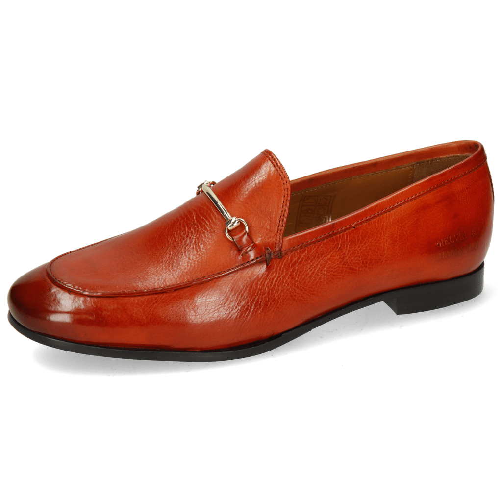 Loafers Scarlett 22 Pisa Winter Orange Trim Gold