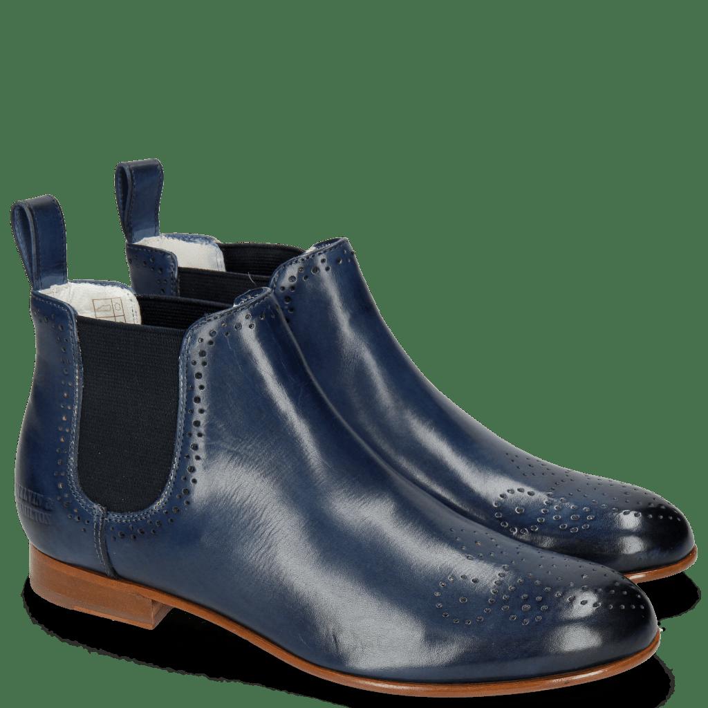 Ankle boots Sally 16 Marine Elastic Navy
