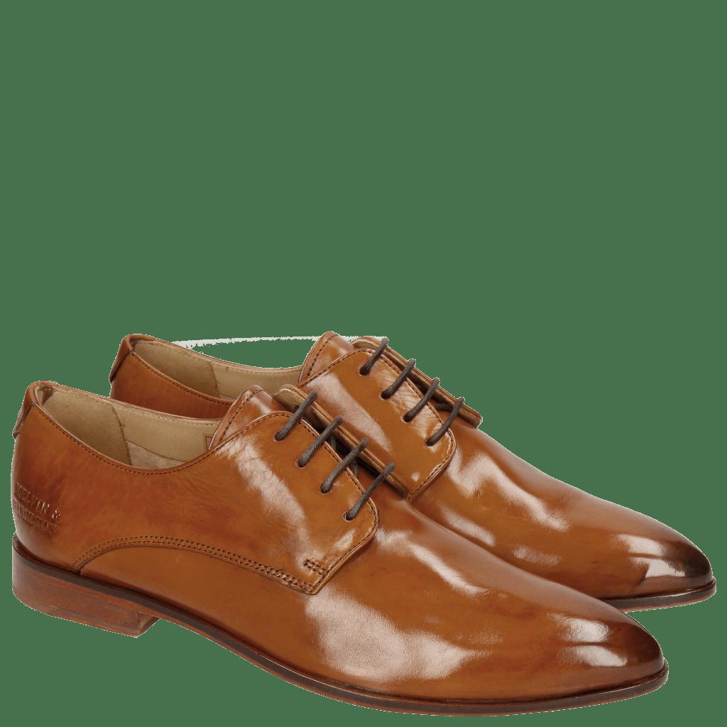 Derby shoes Jessy 5 Tan