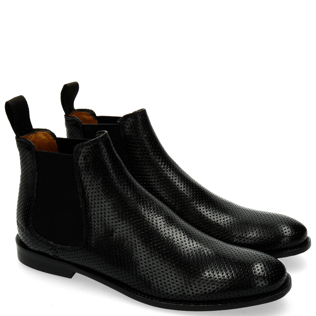 Ankle boots Xenia 1 Perfo Black