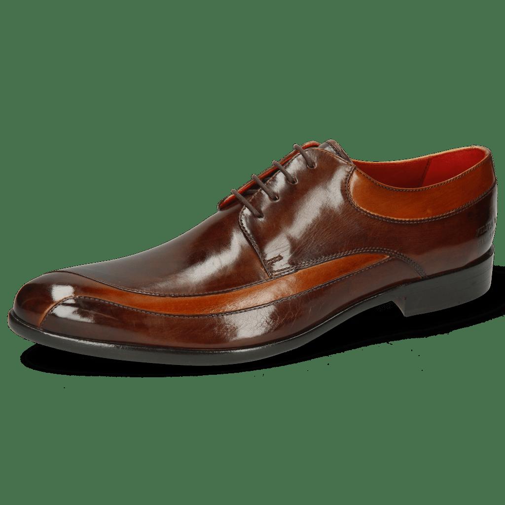 Derby shoes Toni 36 Cognac Mid Brown