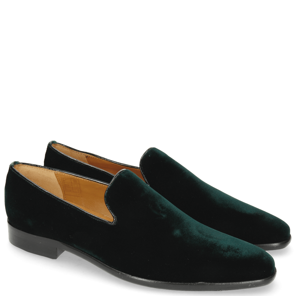 Loafers Emma 9 Velluto Pine Binding Patent Oriental