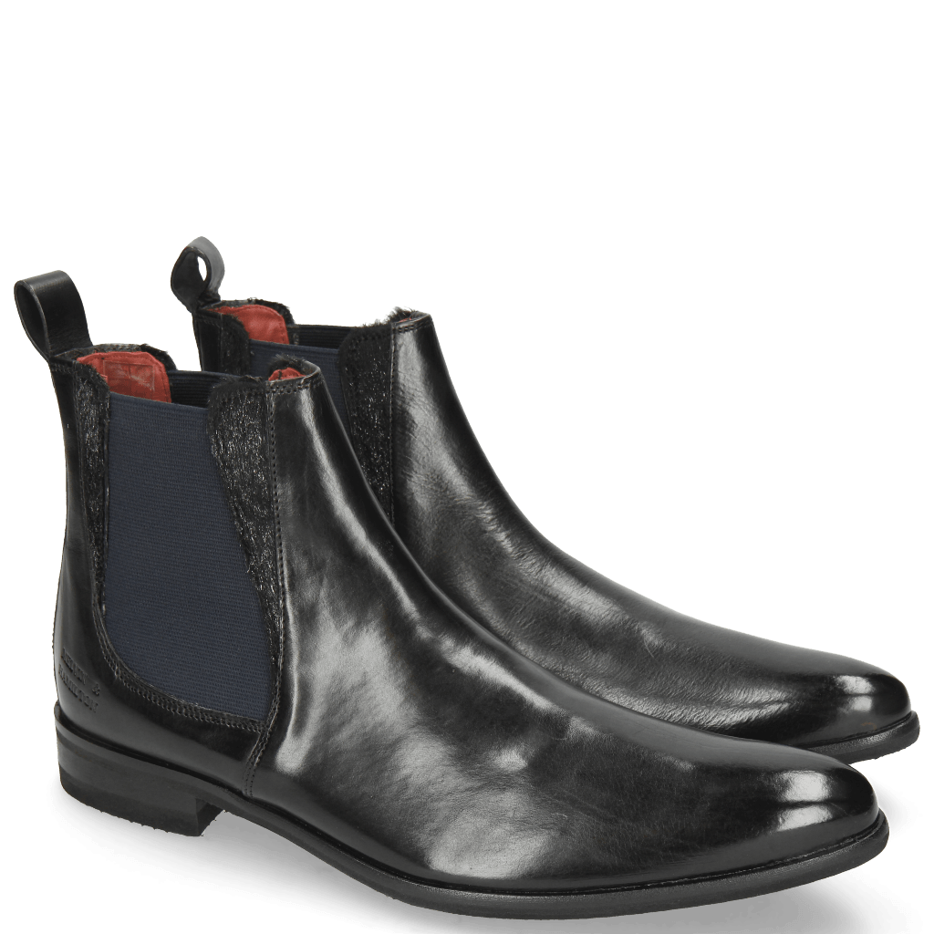Ankle boots Toni 6 Black Hair On