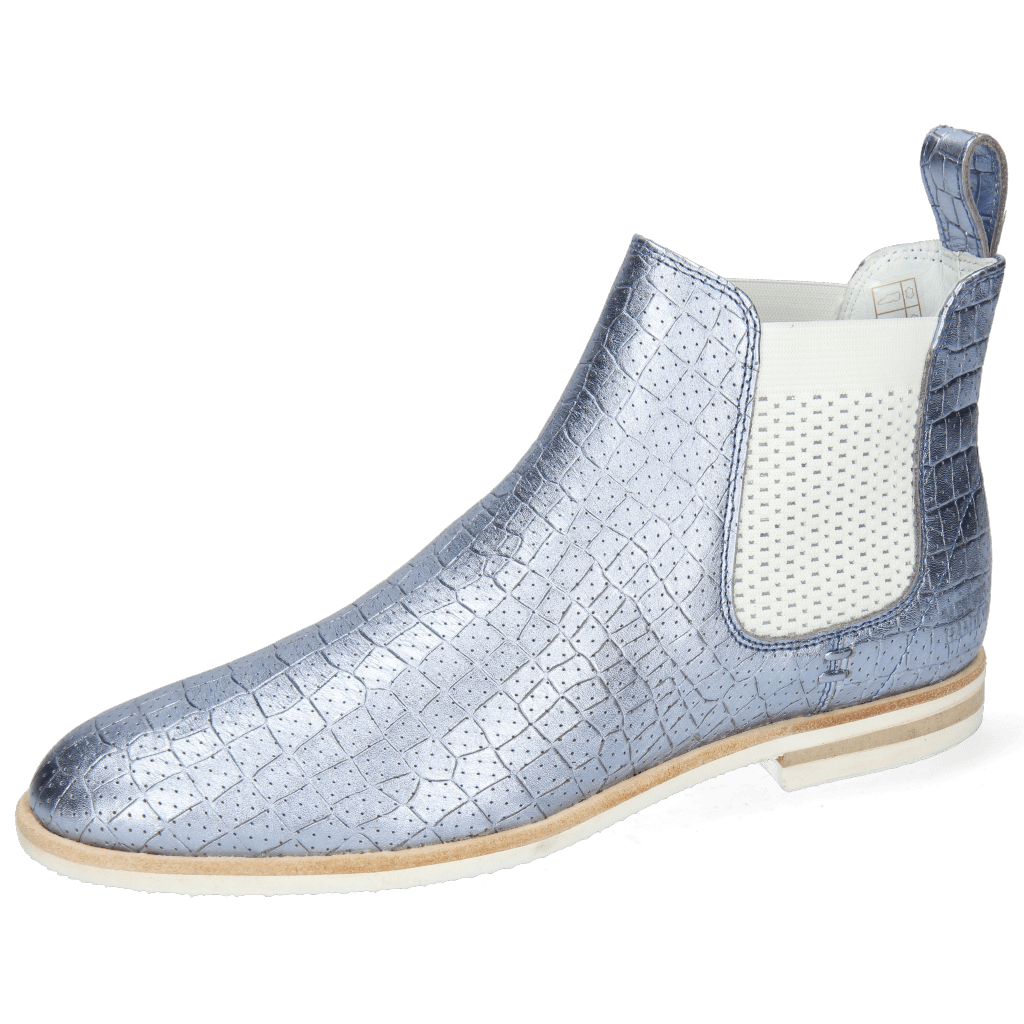 Ankle boots Susan 10 Timor Perfo Turquoise