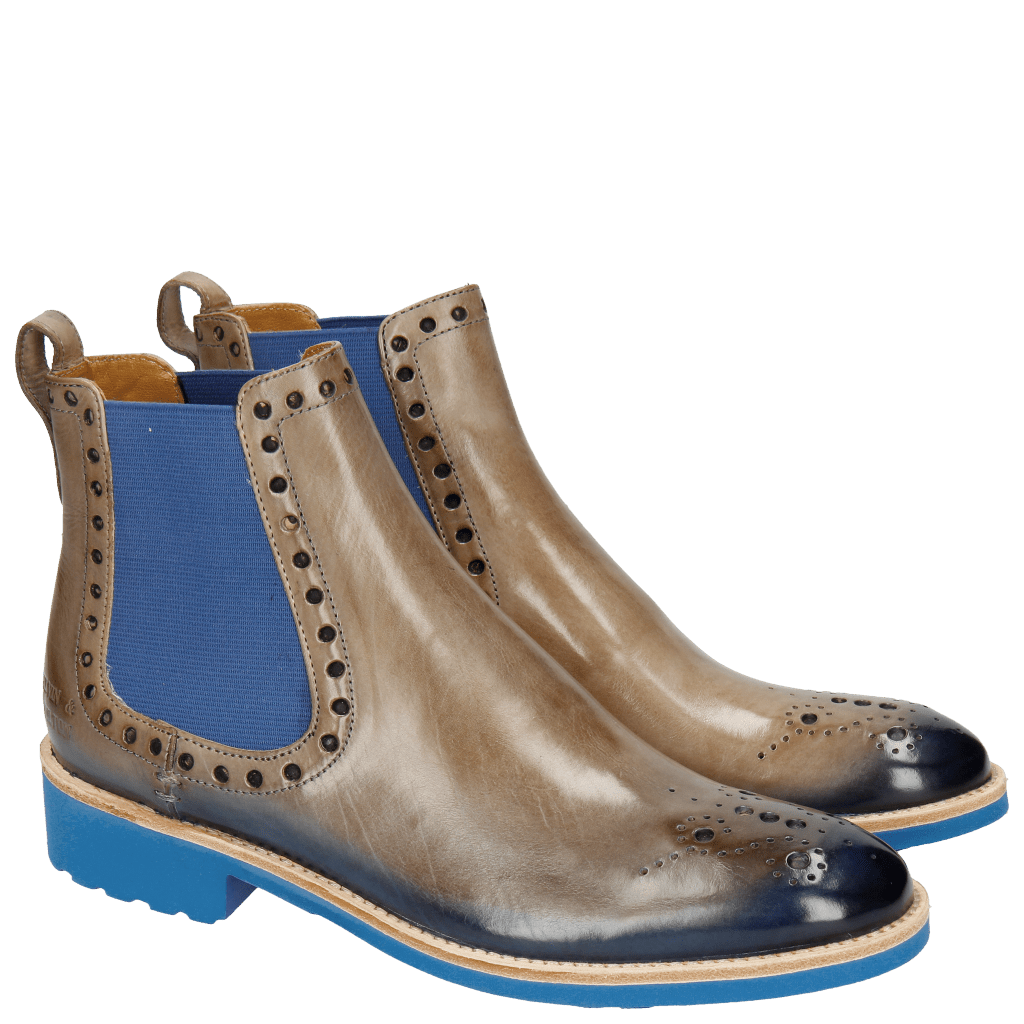 Ankle boots Amelie 8 Light Oxygen Shade Electric Blue