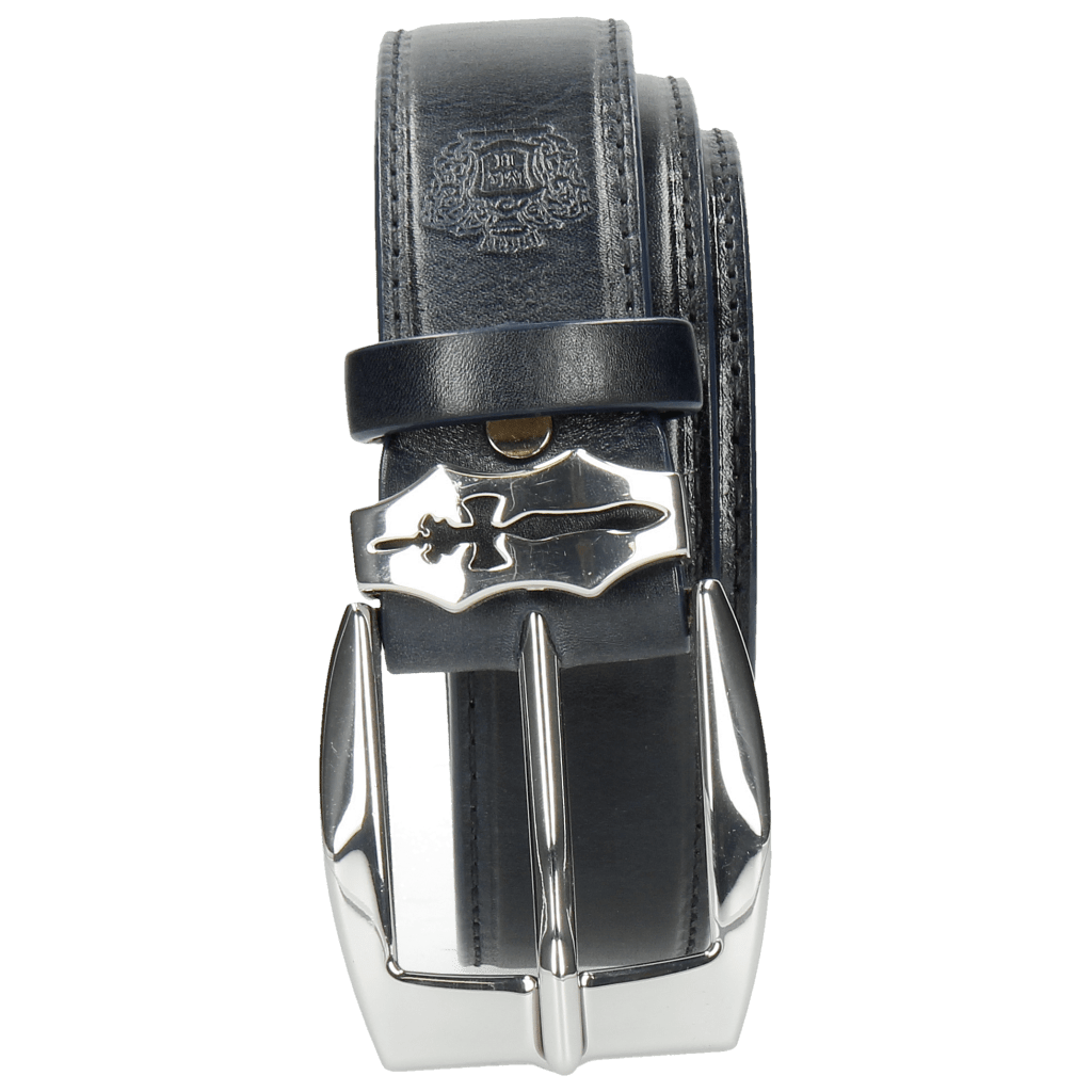 Belts Larry 1 Navy Sword Buckle