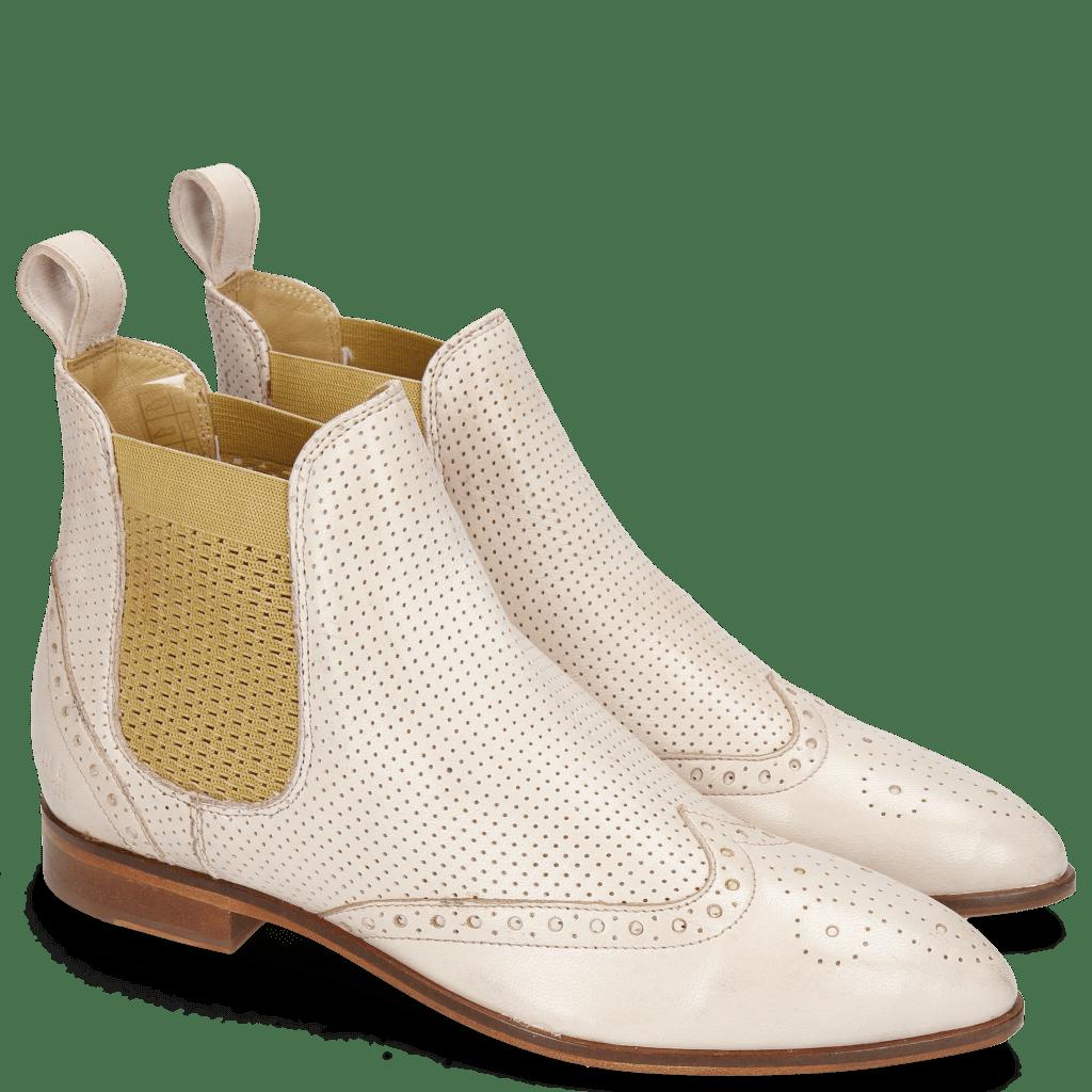 Ankle boots Jessy 4 Nappa Glove Pink Salt Perfo Elastic Nude