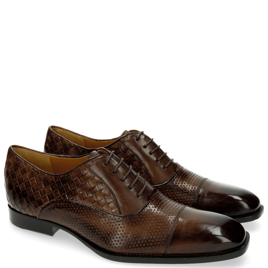 Oxford shoes Woody 9 Perfo Mesh Dark Brown