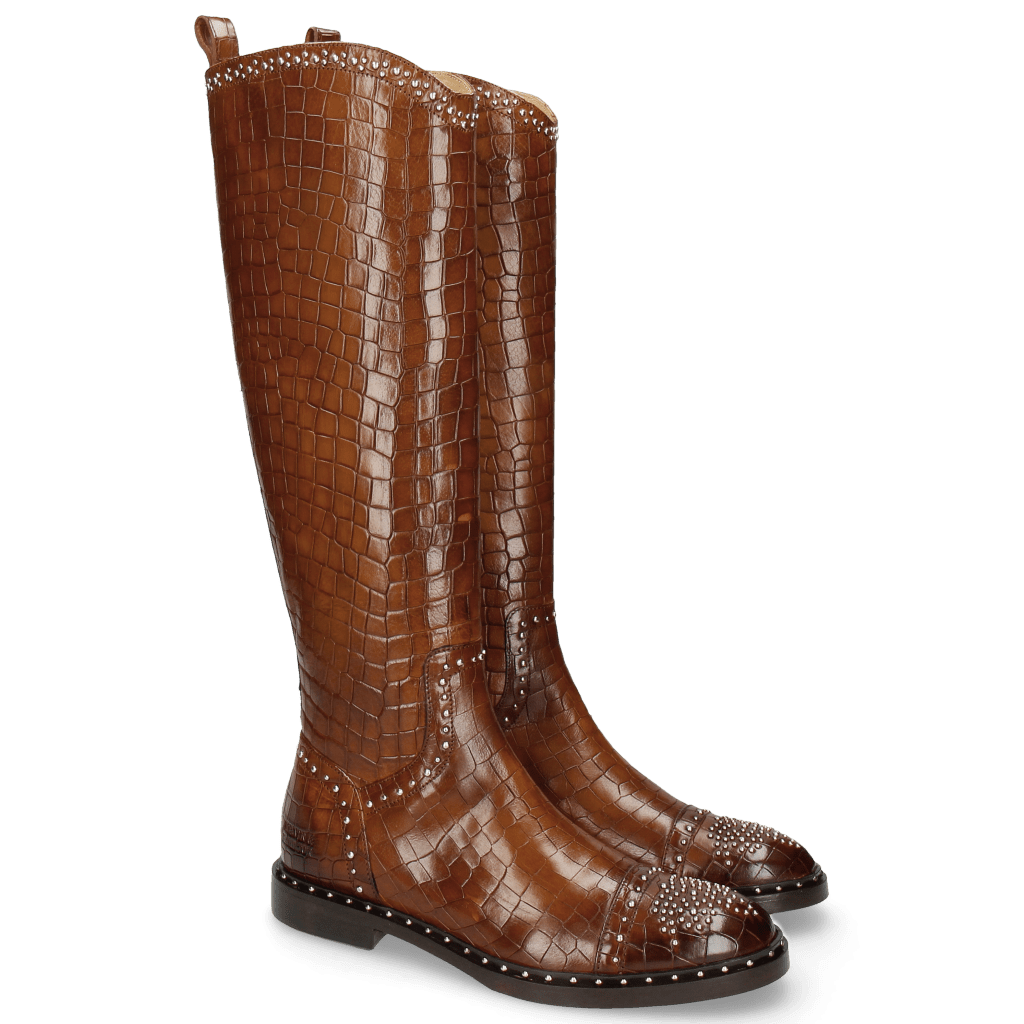 Boots Sally 116 Crock Mid Brown Rivets