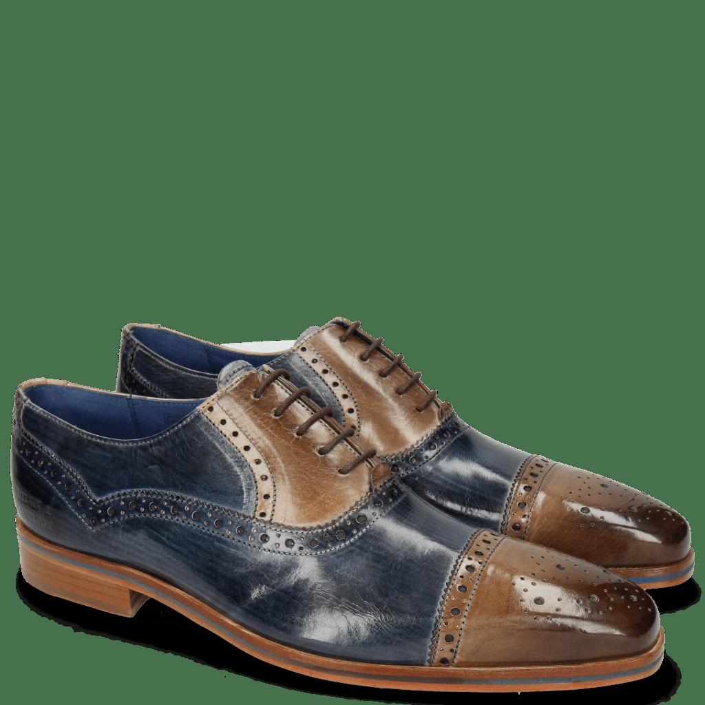 Oxford shoes Lewis 36 Moroccan Blue Oxygen Lines London Fog