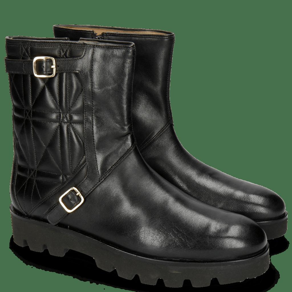 Ankle boots Susan 15 Rio Black Nappa Black