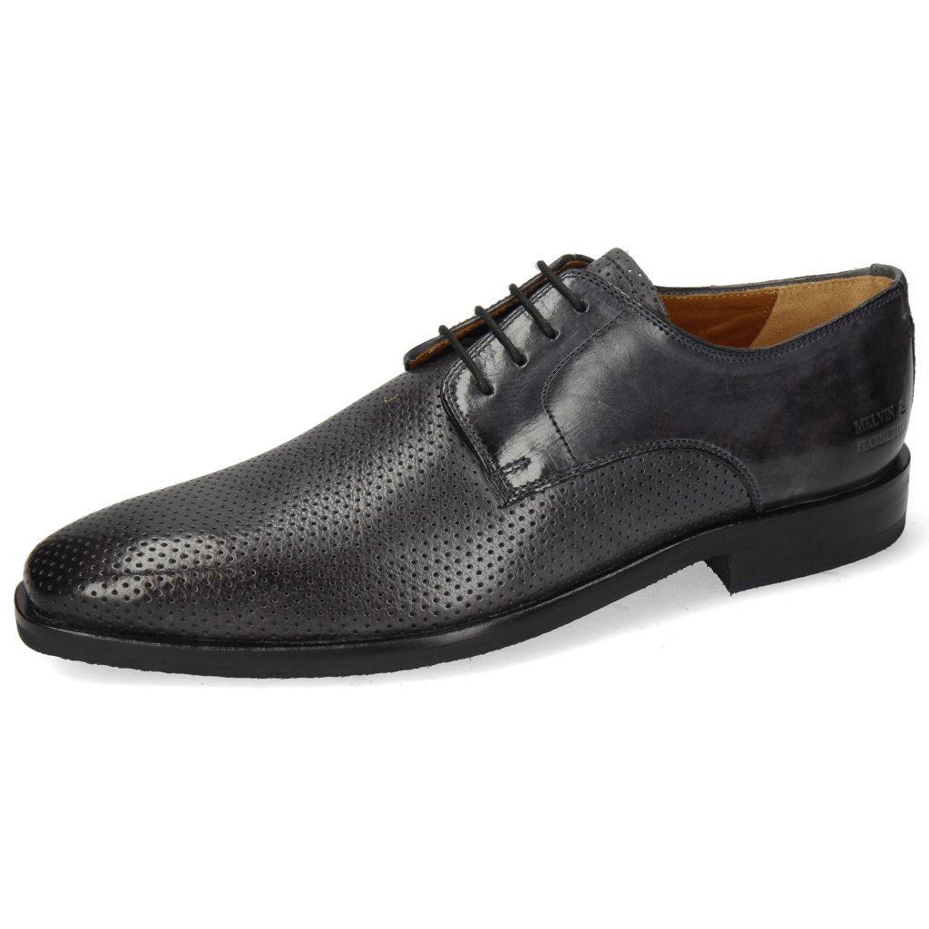 Derby shoes Alex 1 Berlin Perfo Navy
