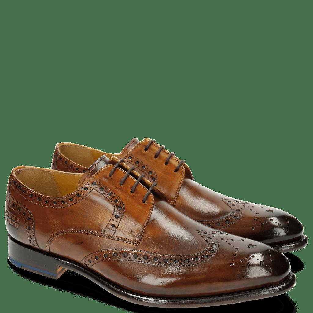 Derby shoes Lionel 4 Tan