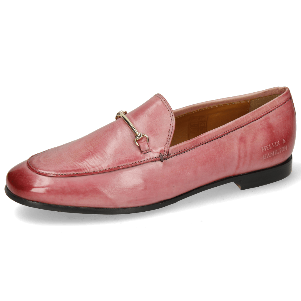 Loafers Scarlett 22 Pisa Rosa Trim Gold