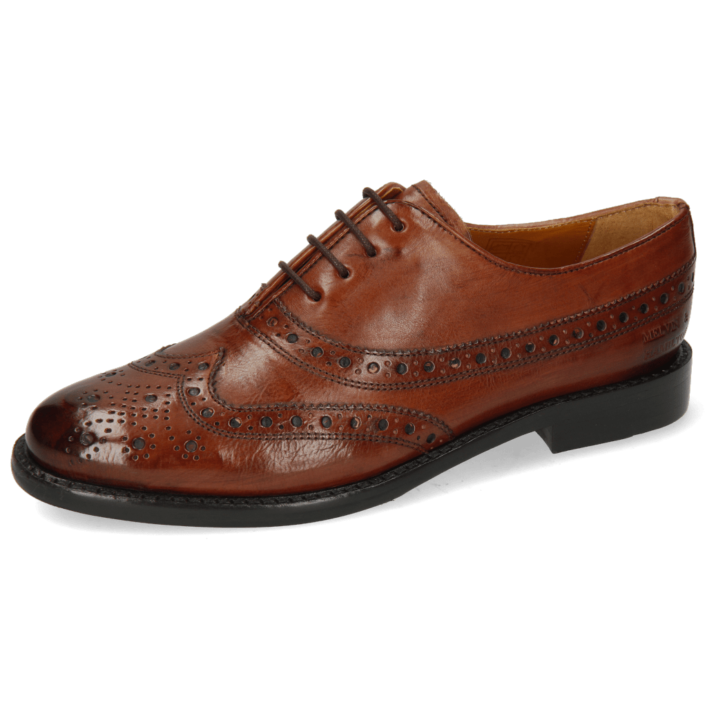 Oxford shoes Selina 8 Pisa Classic Brown