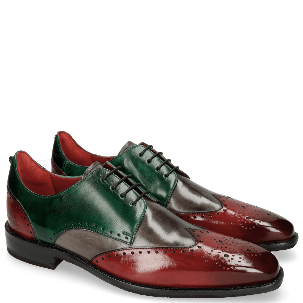 Derby shoes Dave 2 Ruby Grigio Pine