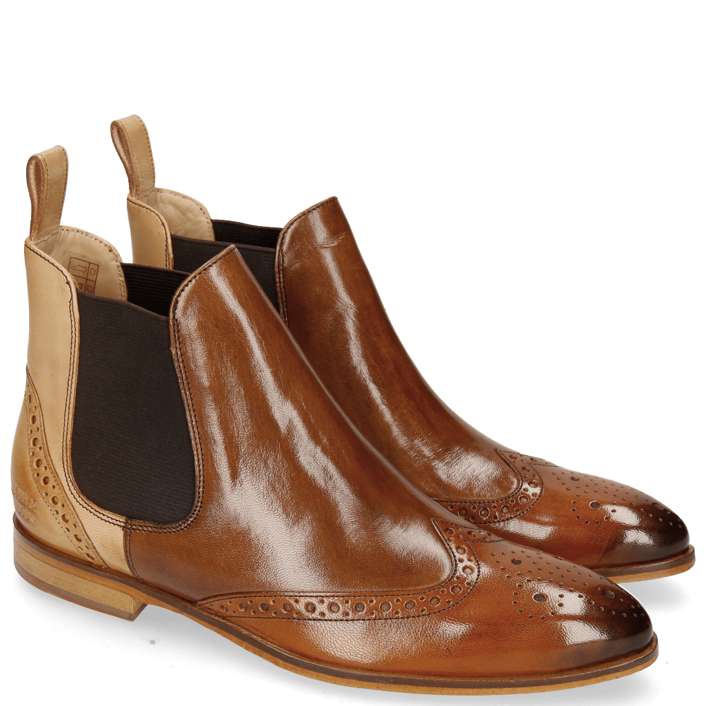 Ankle boots Jessy 4 Tan Tortora Beige