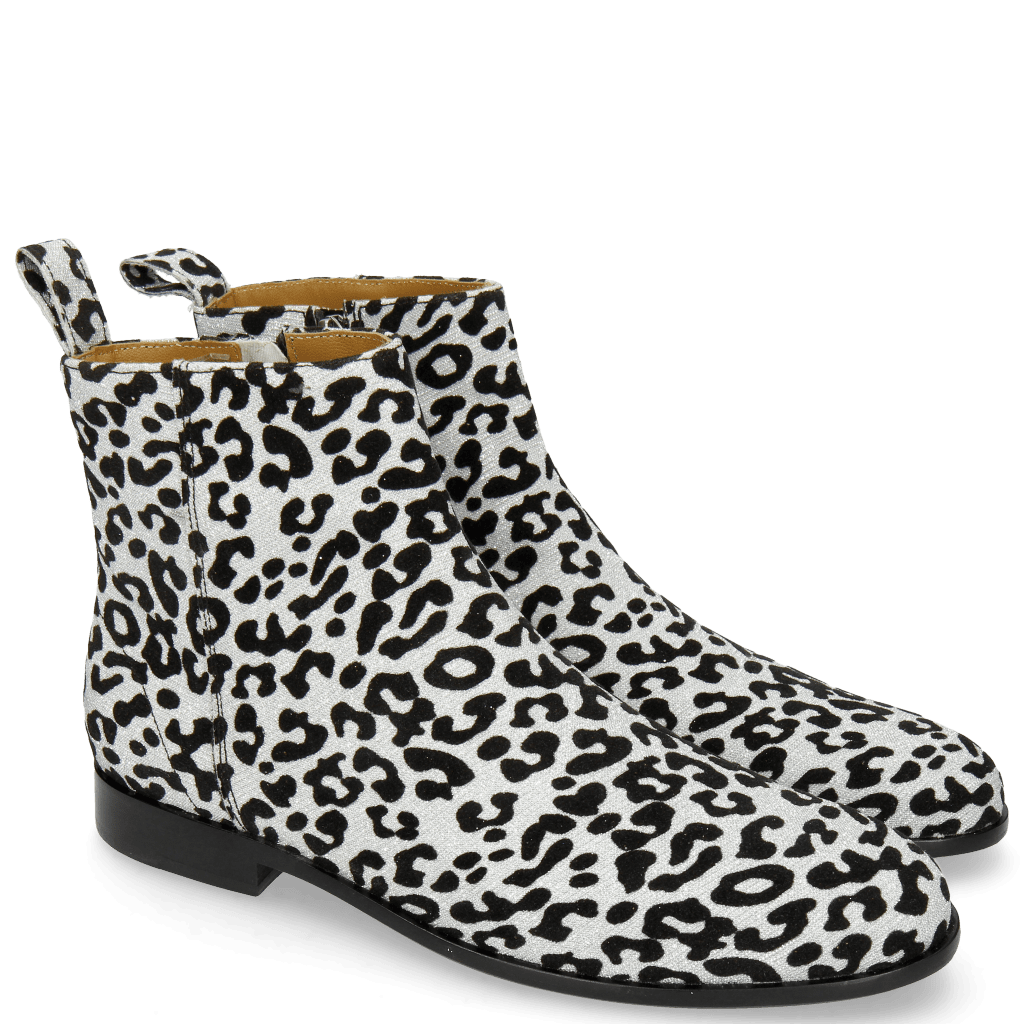 Ankle boots Susan 43 Leo Glitter Silver