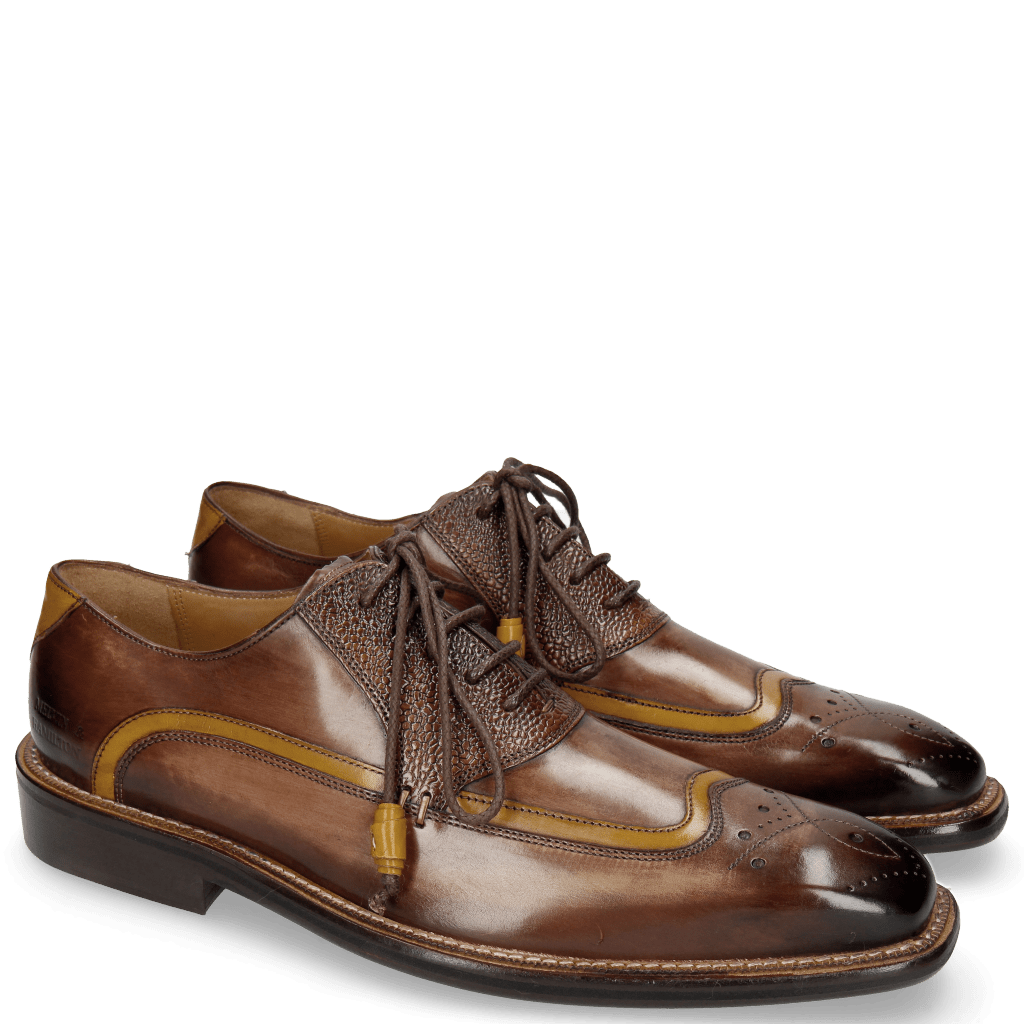 Oxford shoes Marvin 12 Scotch Mogano