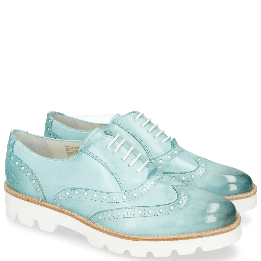 Oxford shoes Selina 24 Vegas Mermaid Punch Underlay
