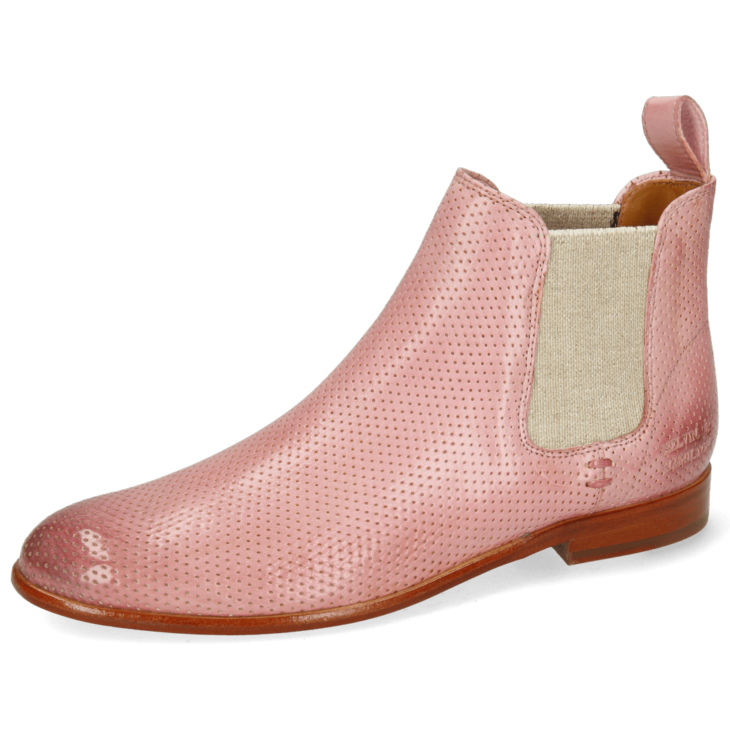 Ankle boots Susan 10 Imola Perfo Rose Elastic Lino