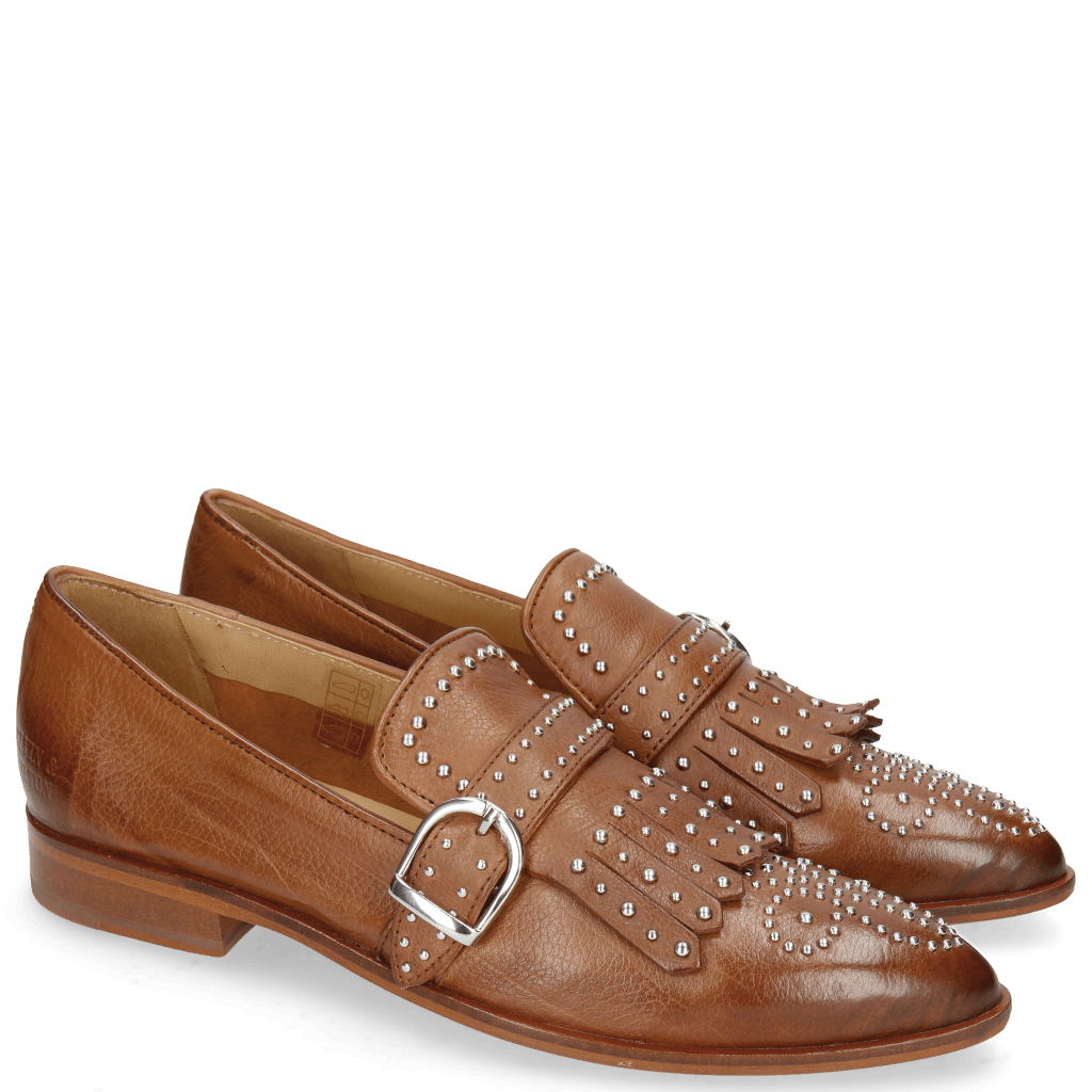 Loafers Jessy 26 Pavia Tan Lining Collar Rich Tan