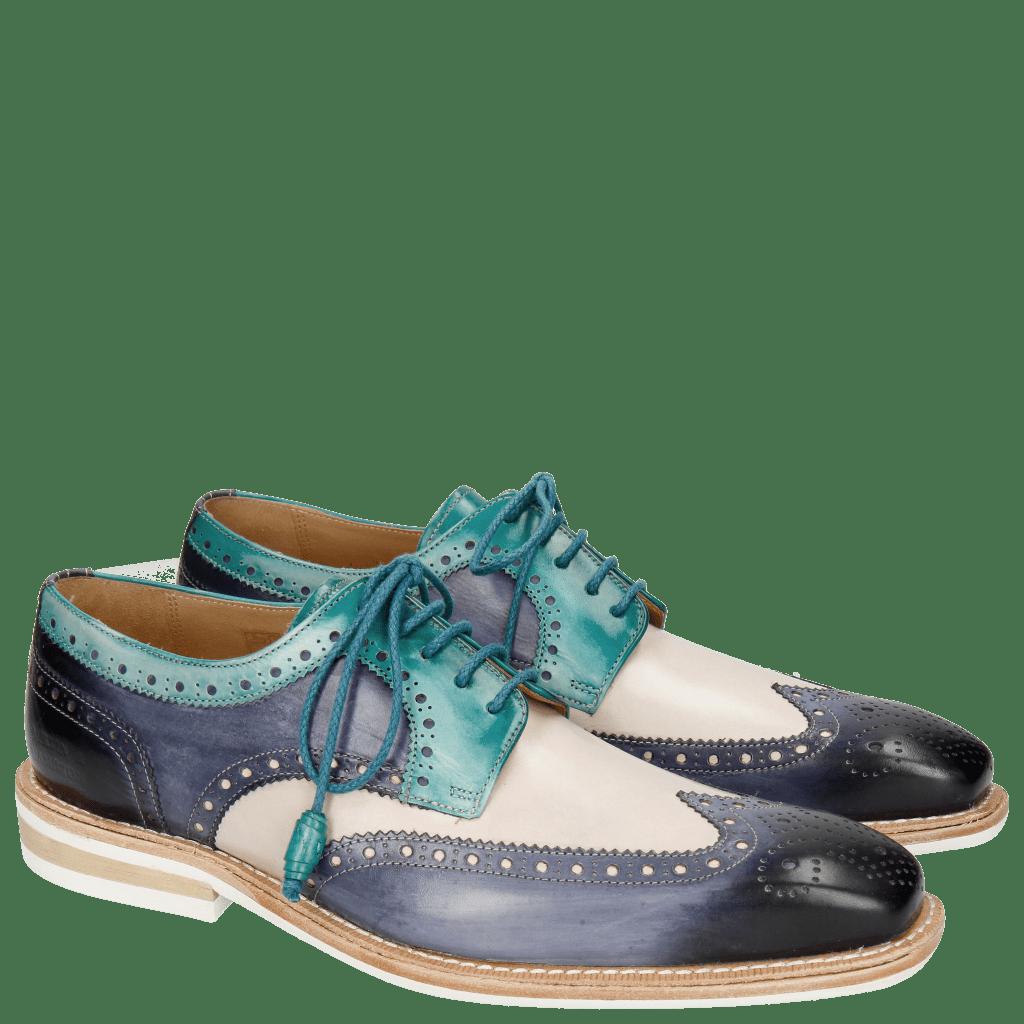 Derby shoes Marvin 1 Marine Blusher Onda