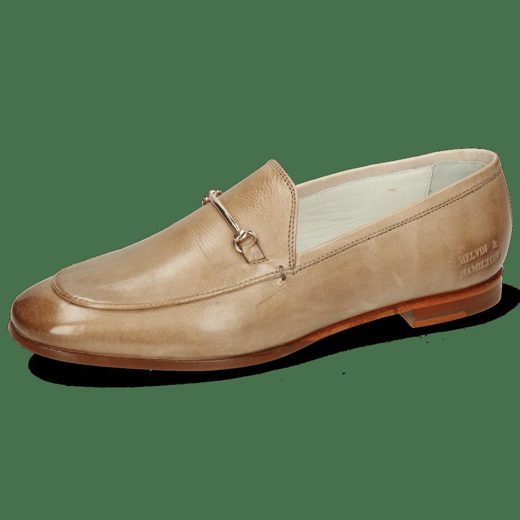 Loafers Scarlett 22 Imola Powder Trim Gold