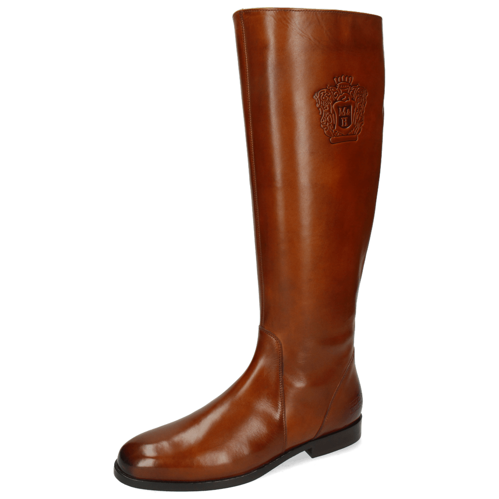 Boots Susan 7 Wood Crown Navy Lining