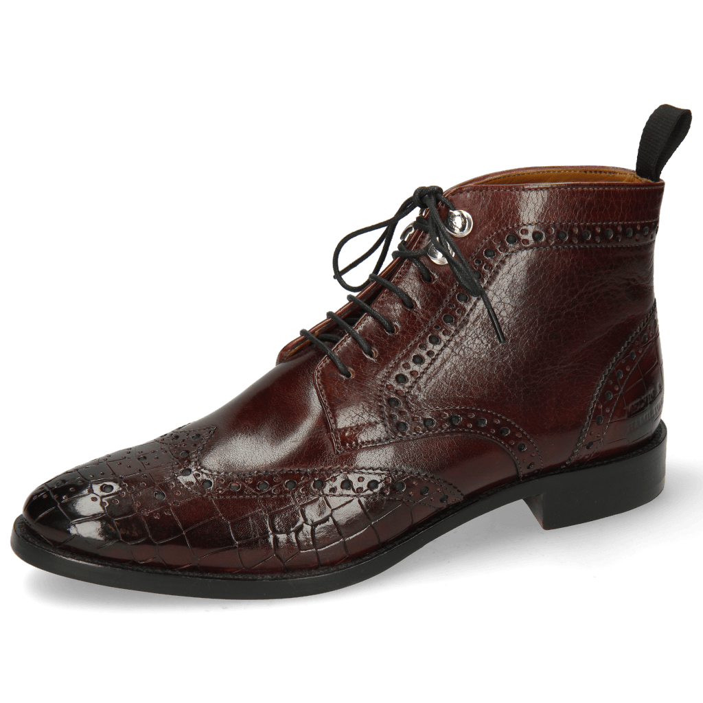 Ankle boots Betty 13 Crock Mulberry