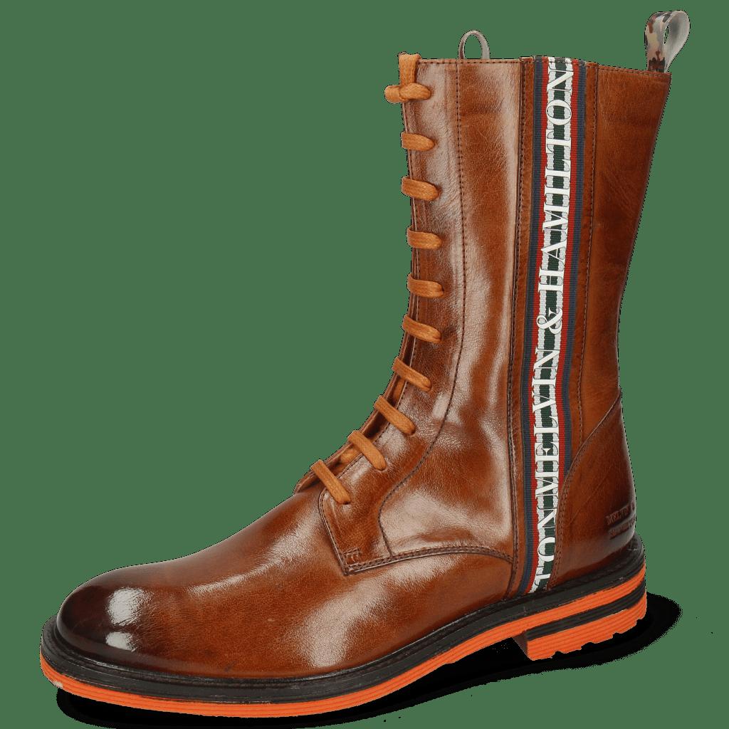 Ankle boots Trevor 27 Wood Sherling Mustard Stripe