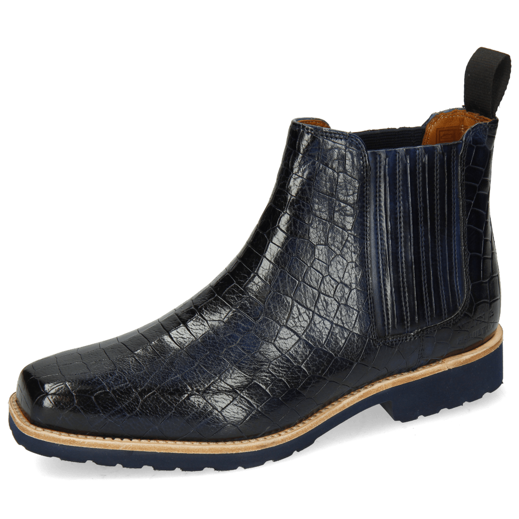 Ankle boots Bella 1 Crock Navy Elastic Navy