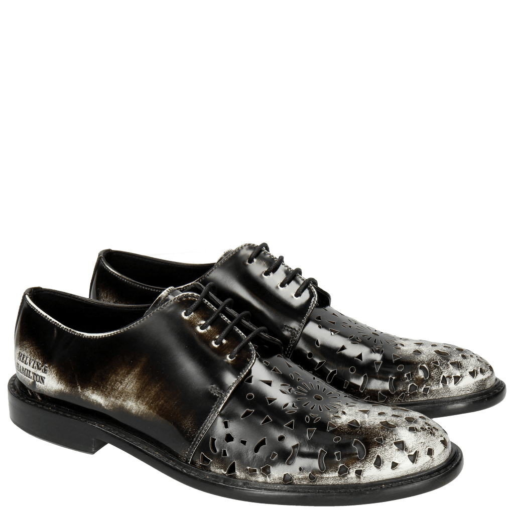 Derby shoes Sally 41 Brush Off White