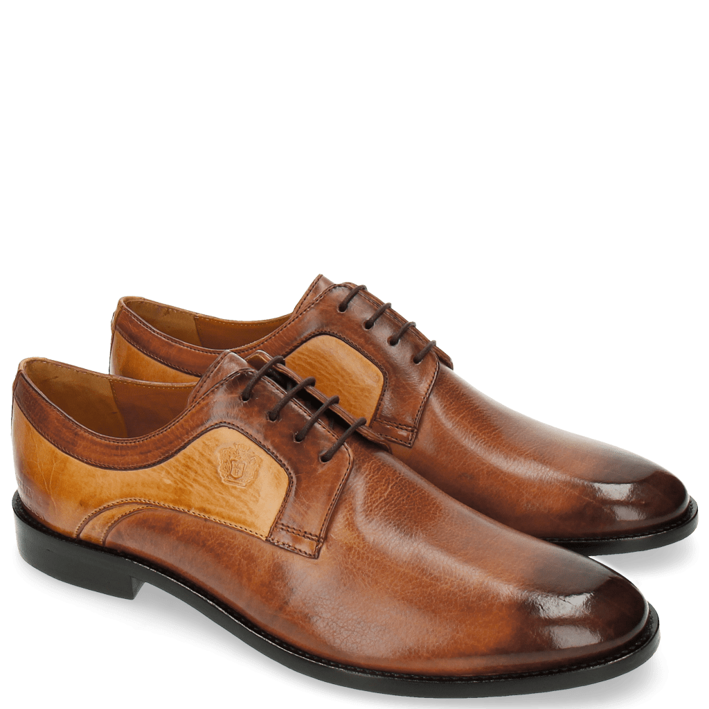 Derby shoes Tim 5 Berlin Wood Sand LS Brown