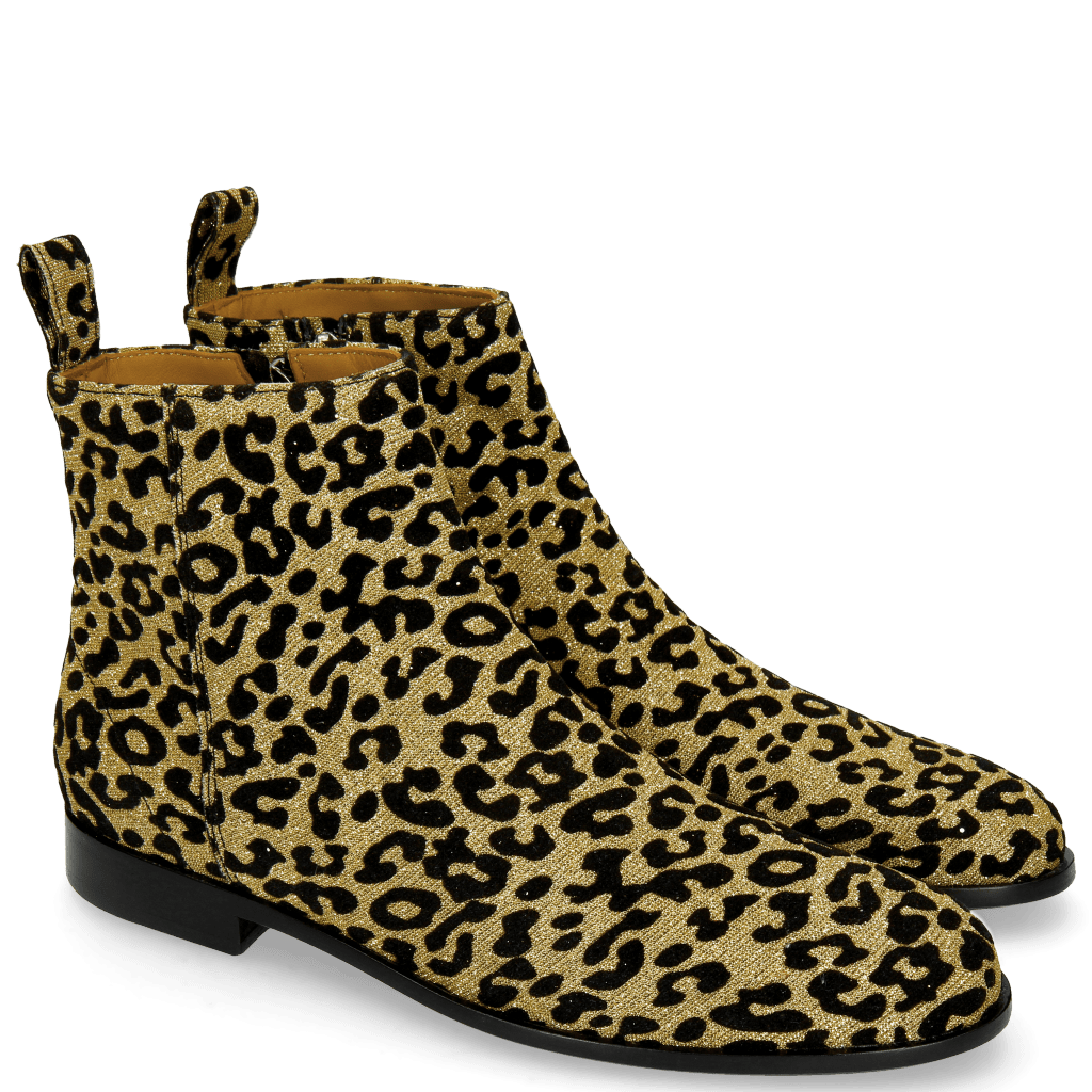 Ankle boots Susan 43 Leo Glitter Gold