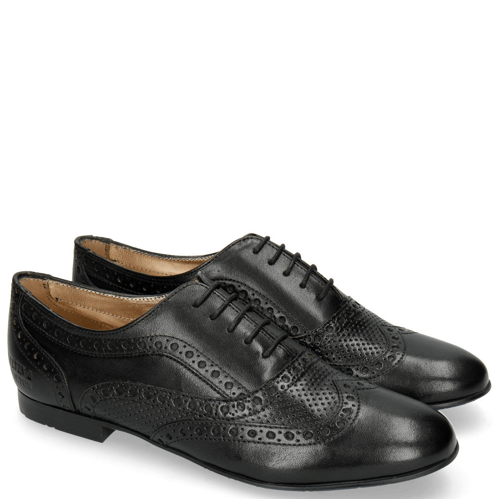 Oxford shoes Xia 2 Rio Perfo Black