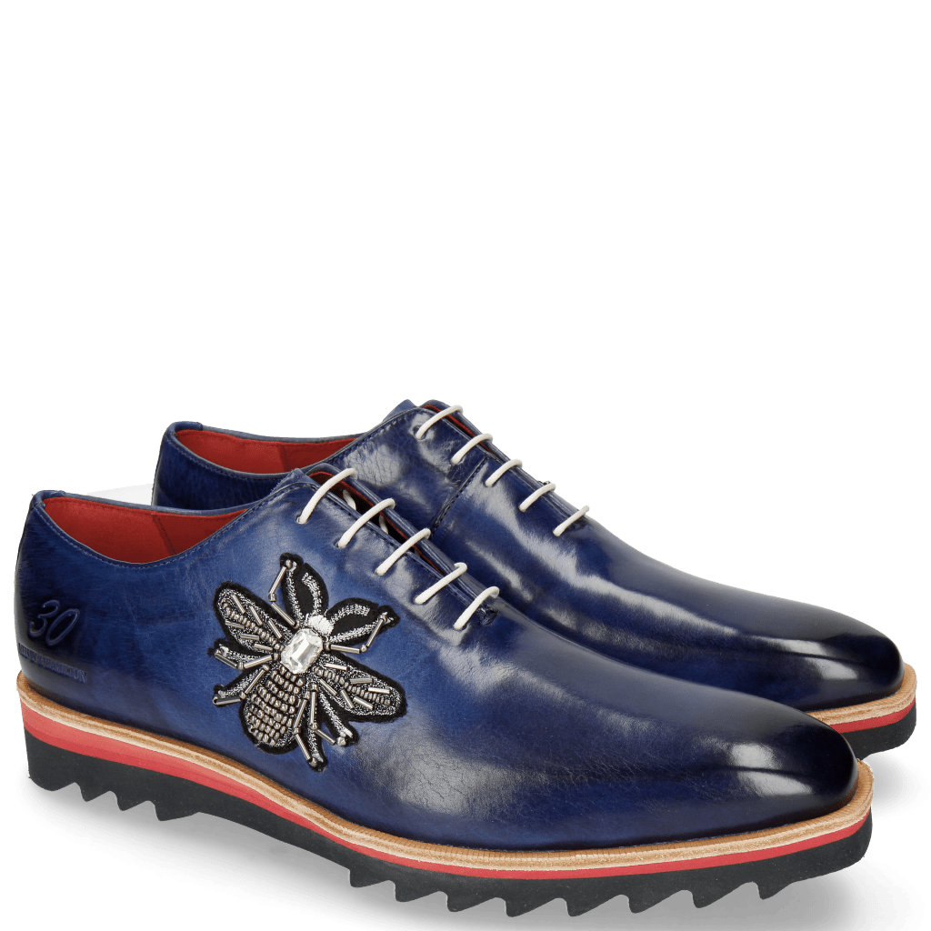 Oxford shoes Jeff 26 Saphir Patch Bee Stone