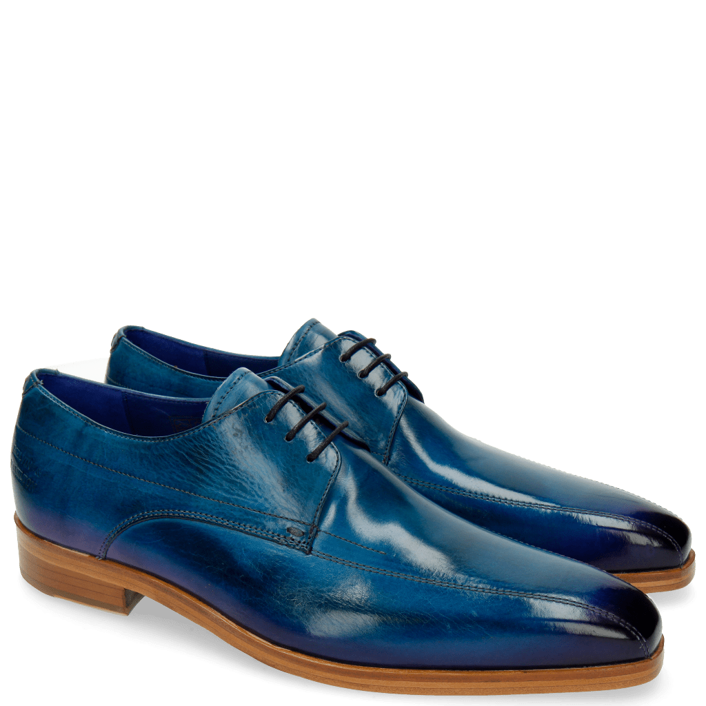 Derby shoes Lewis 10 Bluette Shade Eggplant