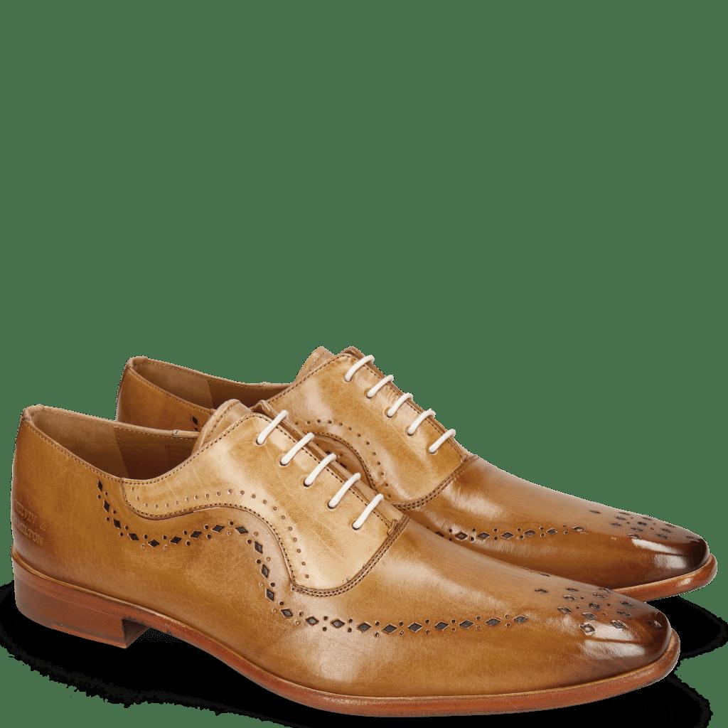 Oxford shoes Oskar 35 Sand Nude Lining Rich Tan Flex