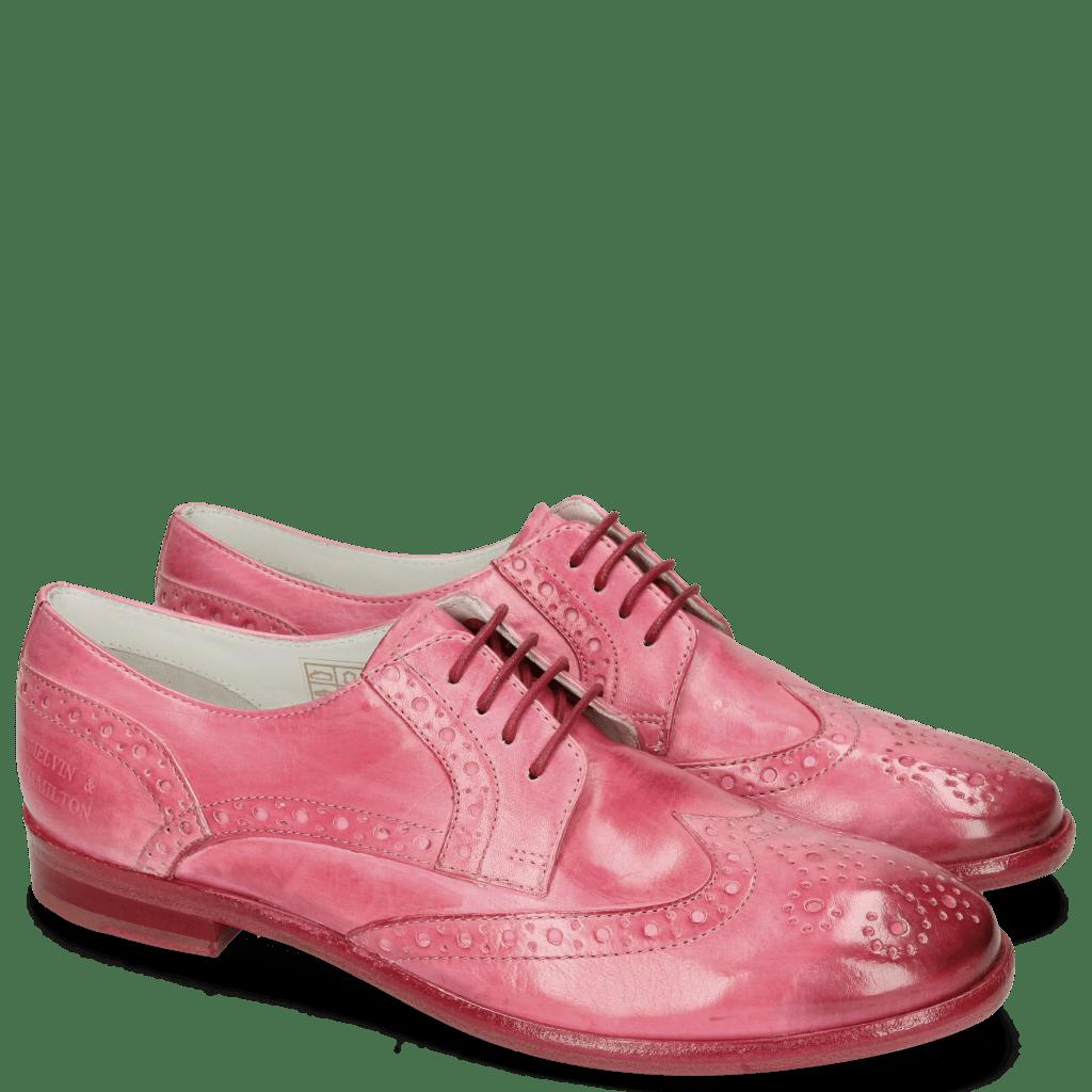 Derby shoes Jenny 6 Vegas Pink