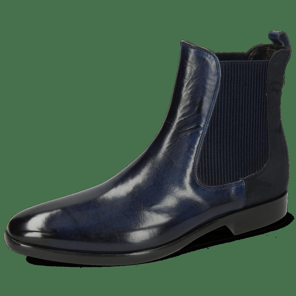 Ankle boots Emma 8 Navy Camo Nylon