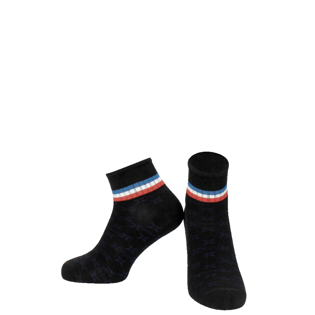 Socks Lorie 1 Ankle Socks Black Blue