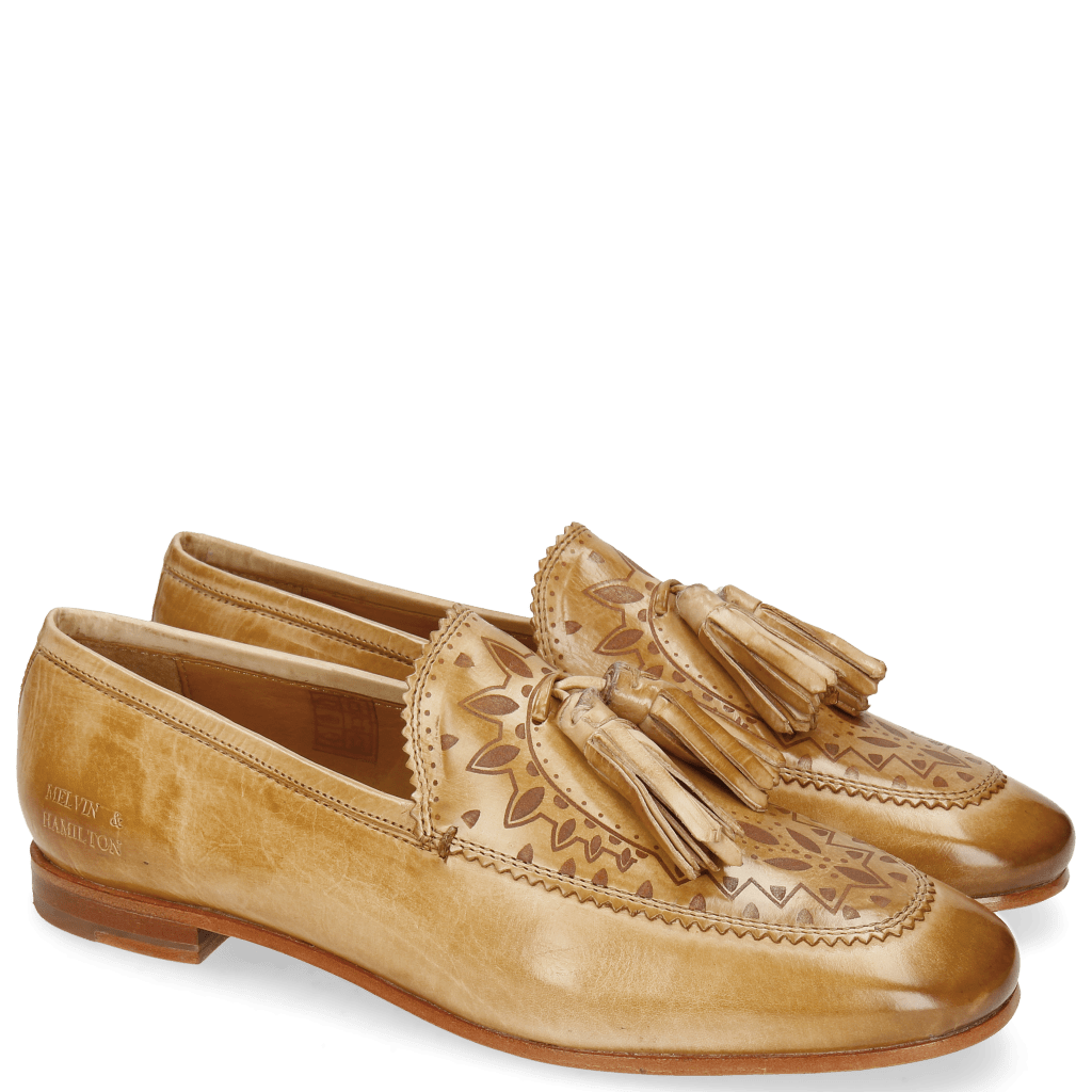 Loafers Scarlett 15 Nude Lasercut